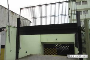 Portão Guilhotina ou Facão